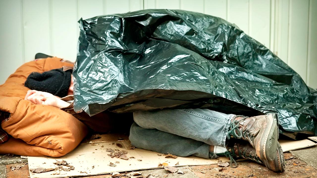 Hilfe für Obdachlose Menschen